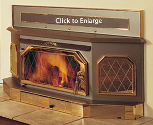 Fireside Stove - Country Elite E260 Wood Stove Insert