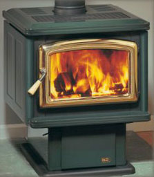 Fireside Stove Pacific Spectrum Free Standing Wood Stove